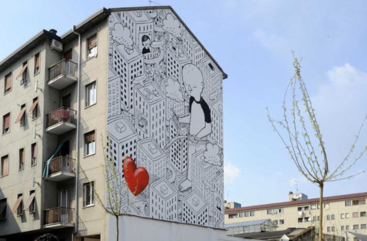 Street art, il Comune di Milano mette a disposizione 100 muri liberi in settanta zone della città