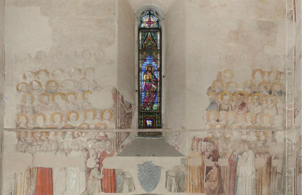 Musei del Bargello, restaurati gli affreschi di Giotto con il più antico ritratto di Dante