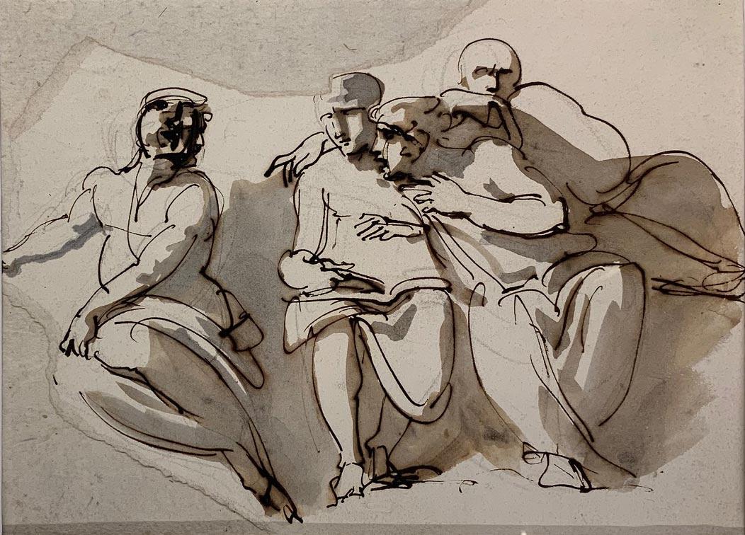 Come il grande neoclassico Giuseppe Bossi si fece ispirare da Raffaello: mostra a Busto Arsizio