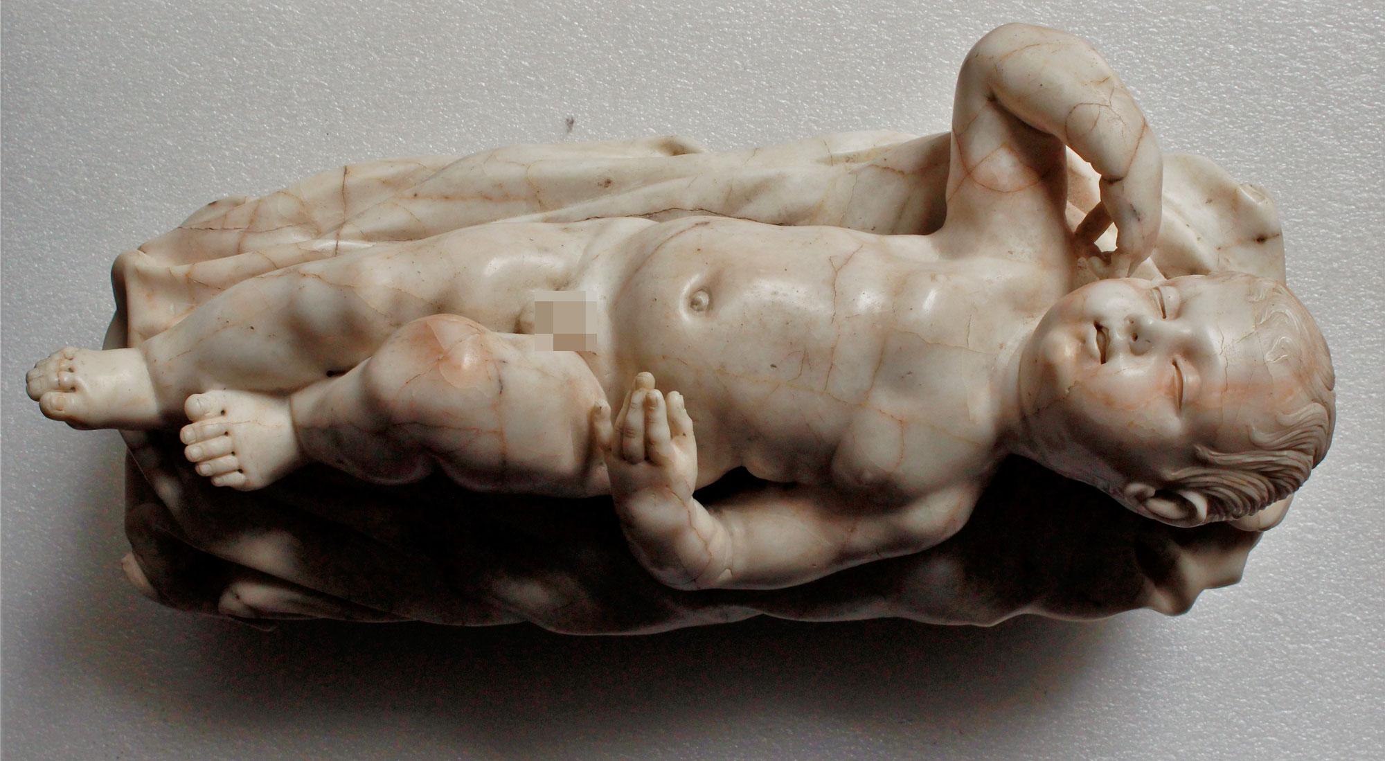 Alla Reggia di Caserta scoperta un'opera di Giuseppe Sammartino, l'autore del Cristo velato
