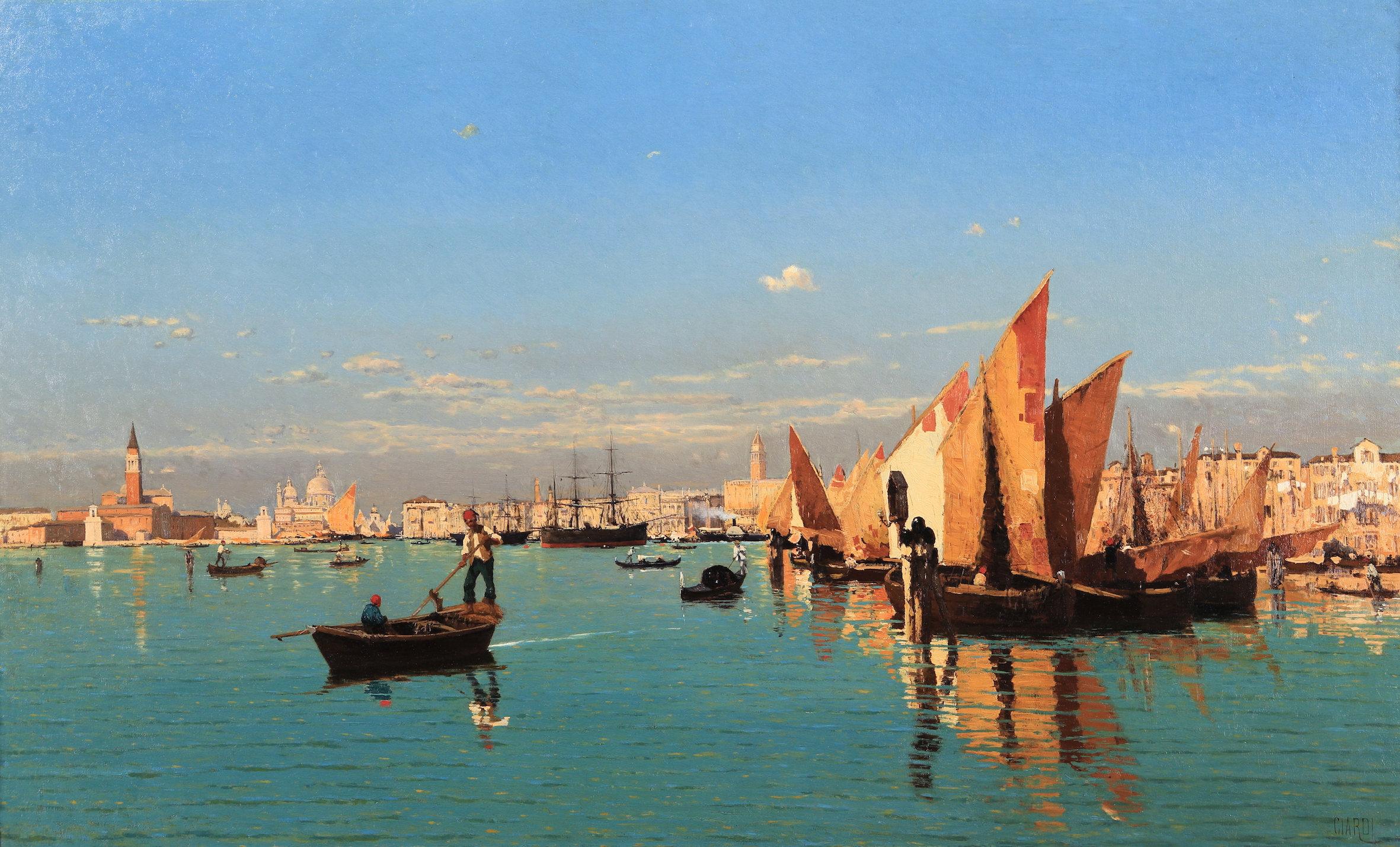 A Novara in mostra il mito di Venezia: mostra con opere da Hayez a Ciardi