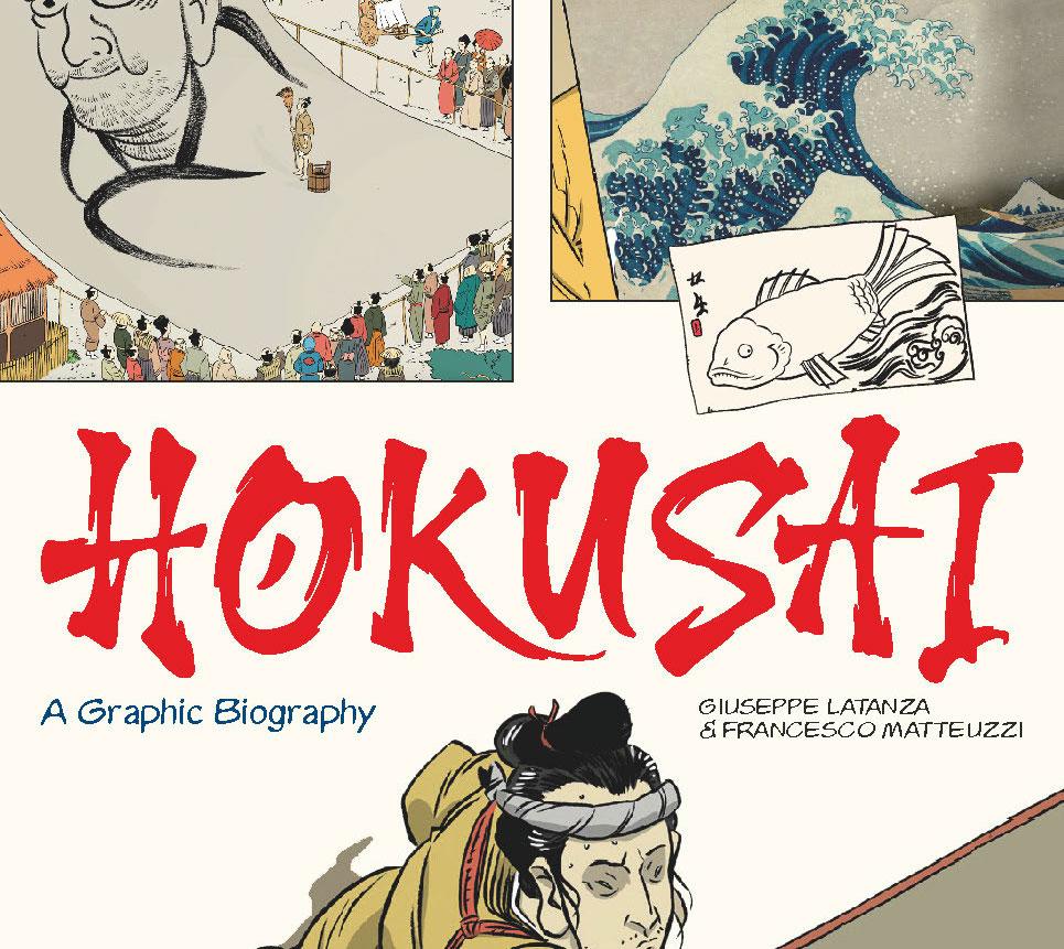 In uscita il primo graphic novel al mondo dedicato a Katsushika Hokusai