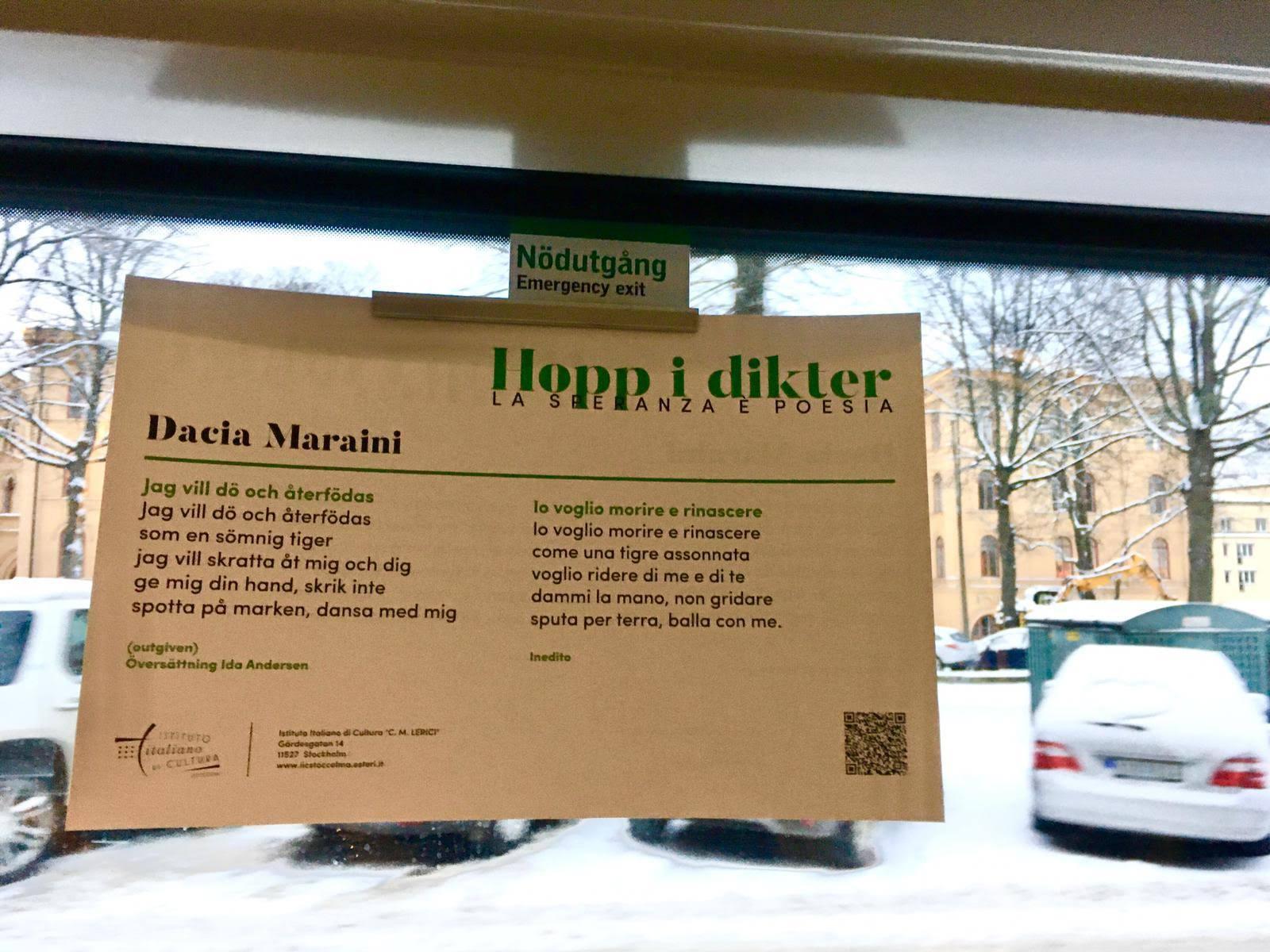 La poesia italiana invade la metropolitana di Stoccolma: versi di Pasolini e altri grandi
