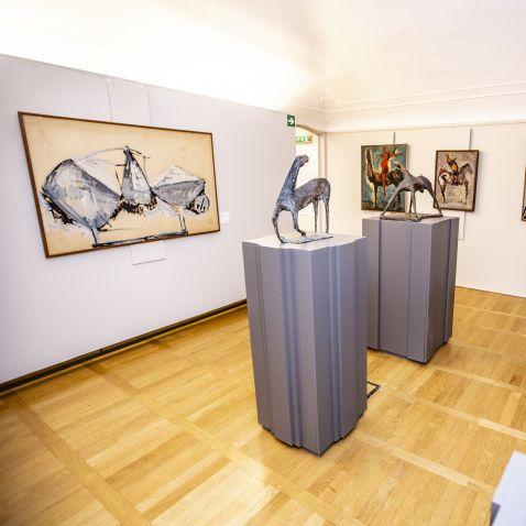 Genova, alla Galleria d'Arte Moderna di Nervi un'antologica sui cavalieri di Marino Marini