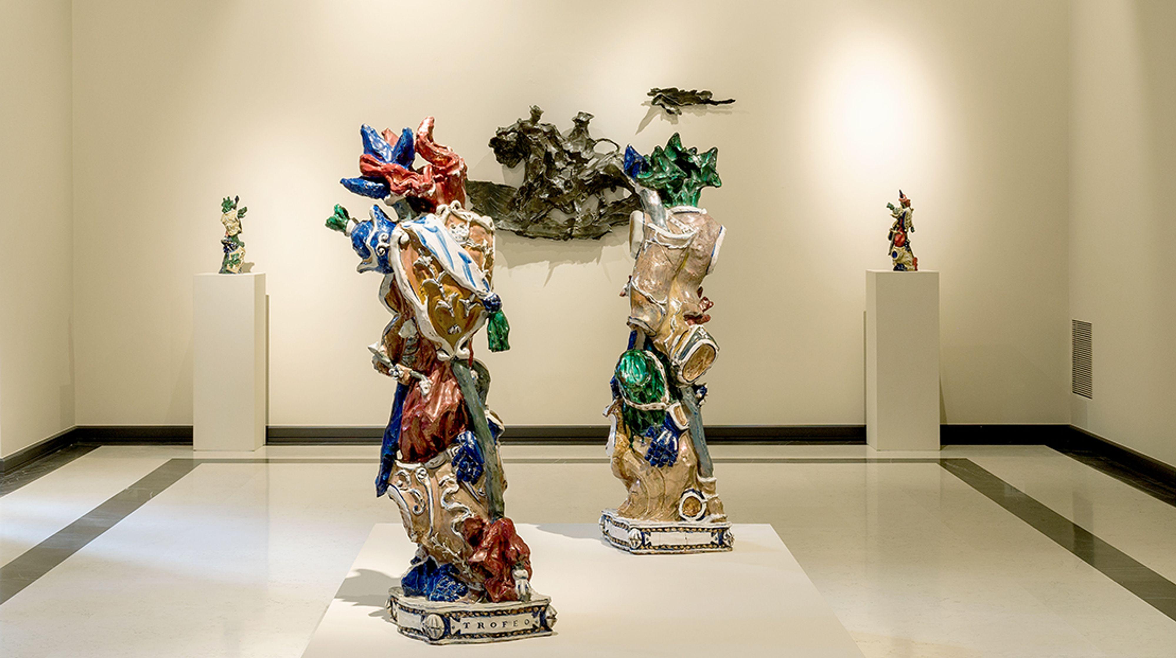 Milano, una mostra indaga le influenze barocche su Lucio Fontana, Leoncillo e Fausto Melotti