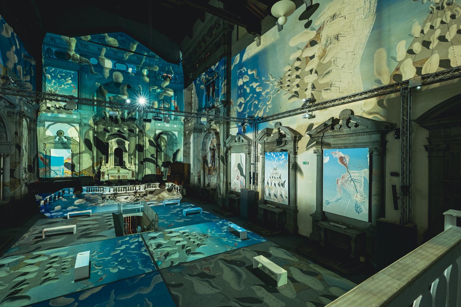 Inside Dalí: a Firenze apre lo spettacolo immersivo sull'icona del surrealismo