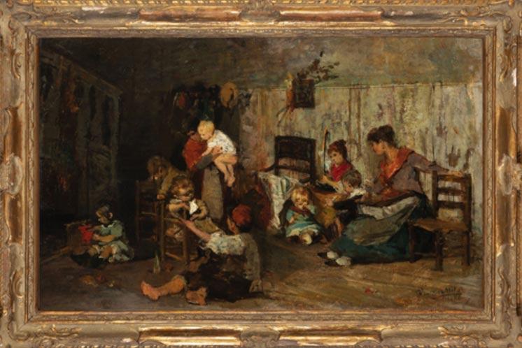 Aste dal 17 al 23 marzo: dipinti, arredi e gioielli