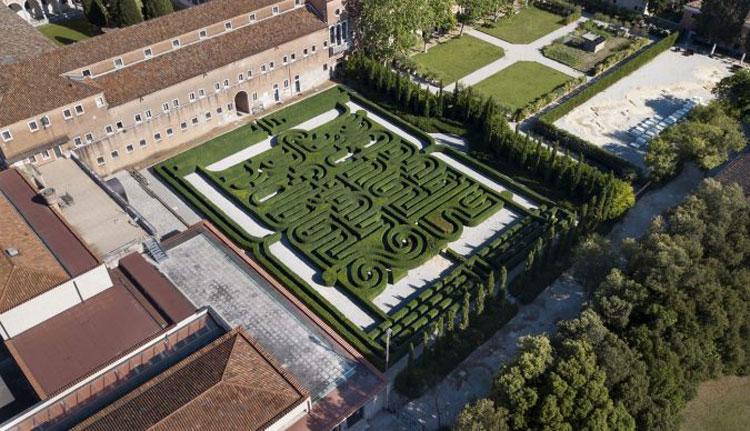 Venezia, apre per la prima volta al pubblico il Labirinto Borges sull'Isola di San Giorgio Maggiore