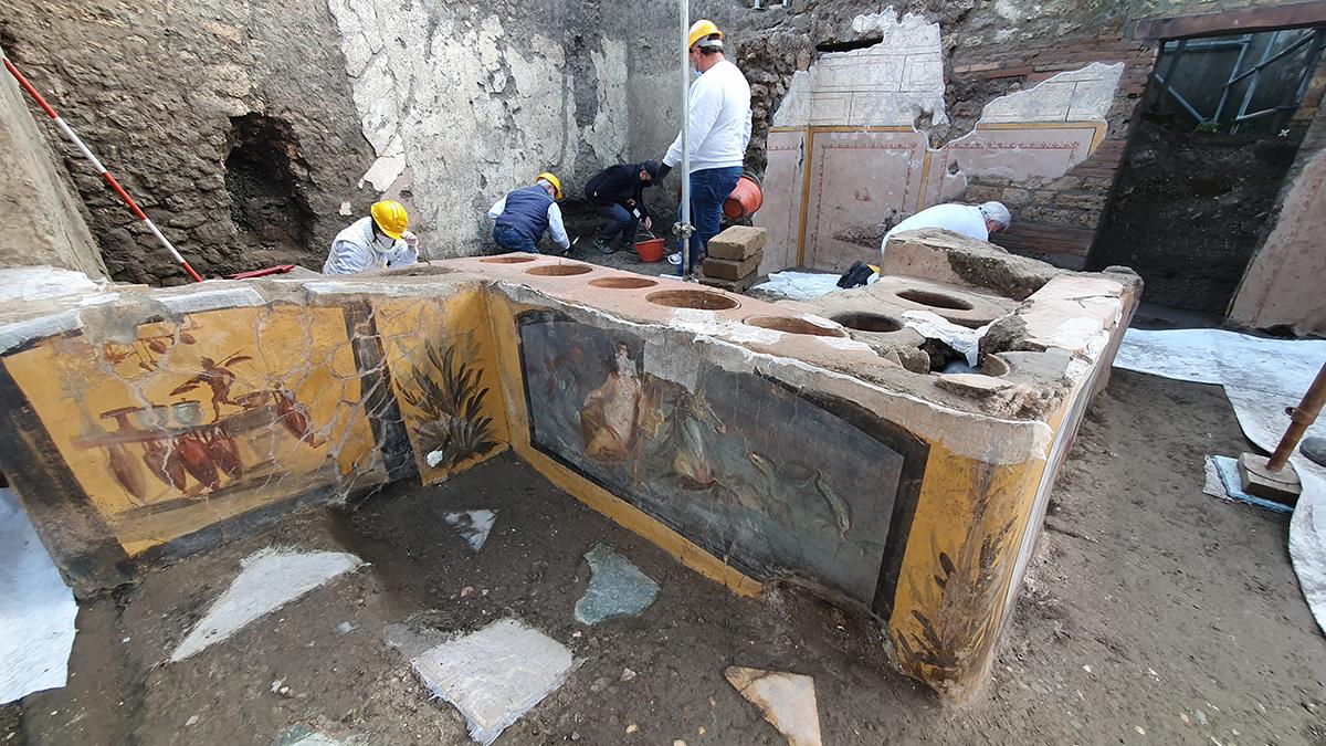 """La scoperta eccezionale di Pompei: un """"semi-tarocco"""" per promuovere un documentario francese?"""