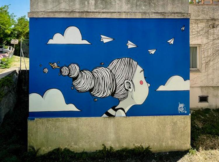 Il museo open air di Mondolfo si arricchisce di nuove opere di street art
