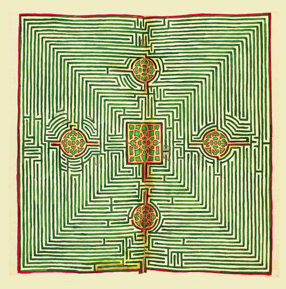 Al Labirinto della Masone una mostra per conoscere la storia di uno dei simboli più antichi: il labirinto