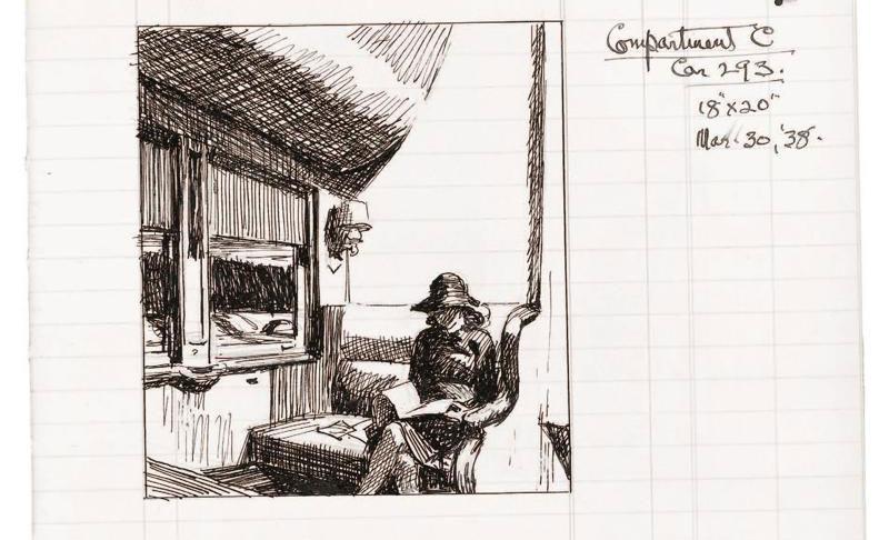 Hopper era contabile di se stesso. Riuniti in un volume i suoi libri mastri