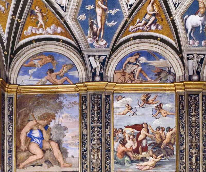 Loggia di Galatea, al via il restauro delle parti decorative del capolavoro di Raffaello