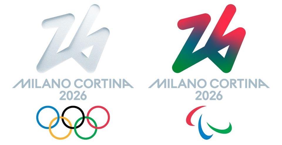 Svelato il logo delle Olimpiadi di Milano-Cortina 2026. Scelto dal voto popolare