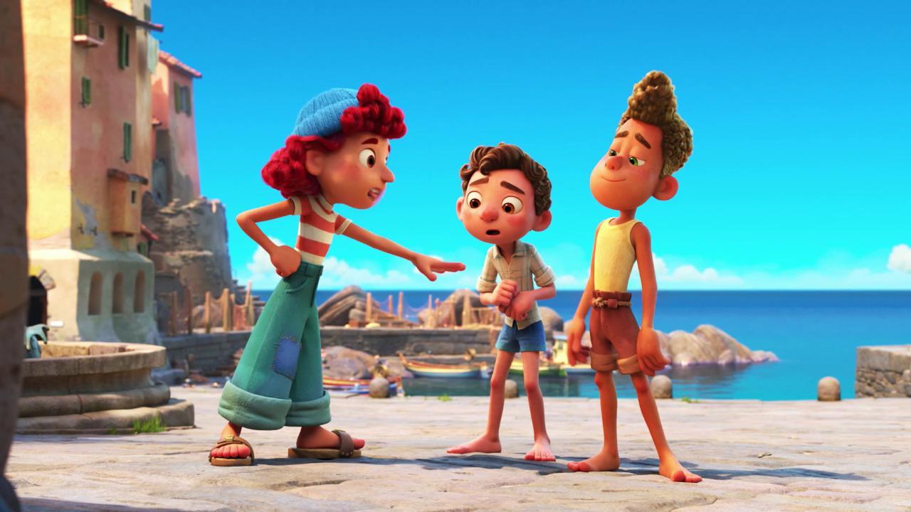 """In uscita """"Luca"""", il nuovo film Disney-Pixar: è ambientato in Liguria. Il trailer"""