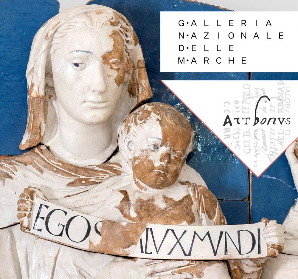 Galleria Nazionale Marche, terracotta robbiana necessita restauro. Puoi contribuire con Art Bonus