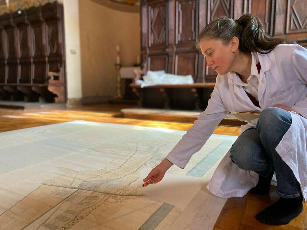 Anche Cesenatico aveva le sue saline. Restaurata inedita mappa