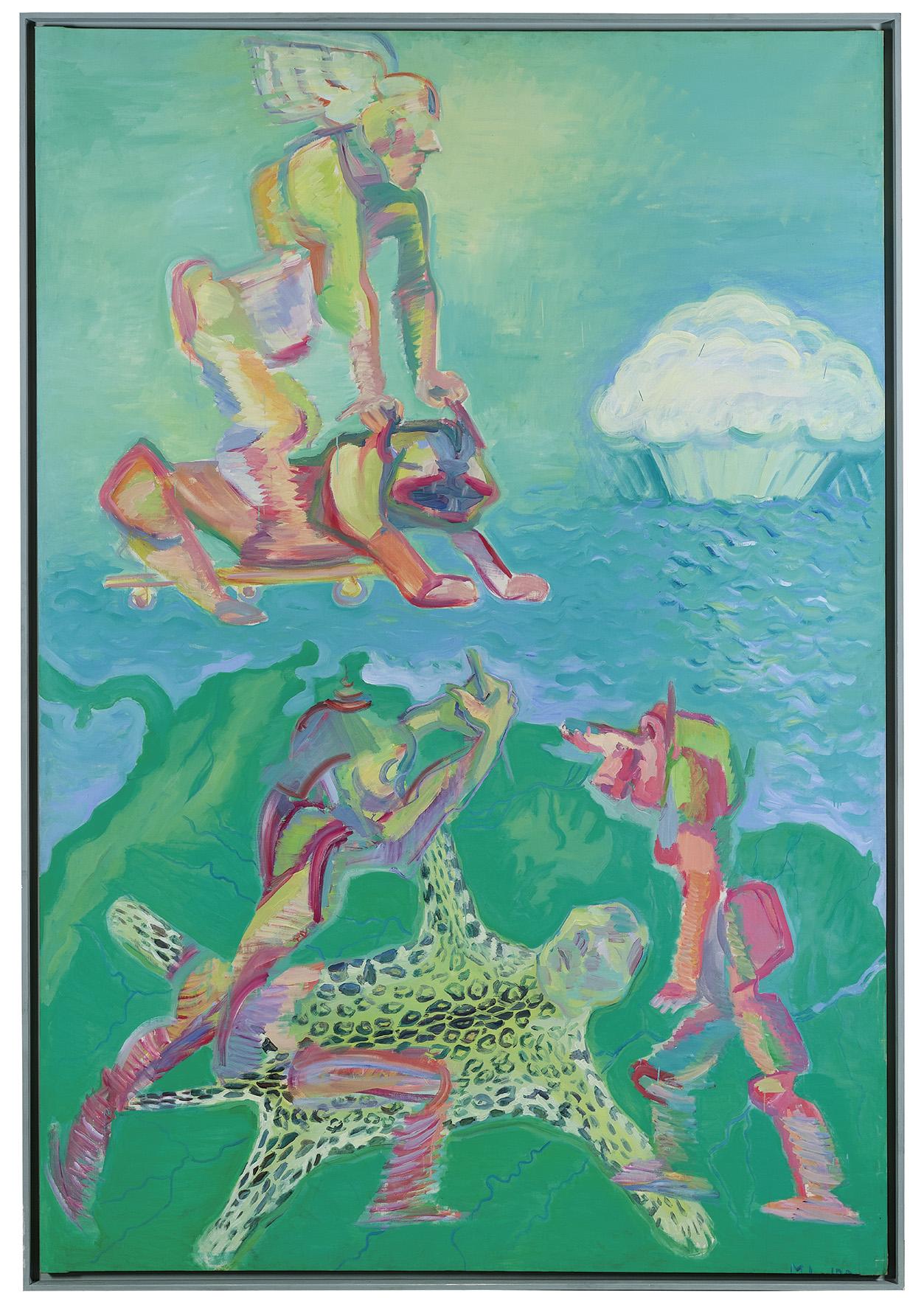 Maria Lassnig guida l'asta di arte contemporanea di Dorotheum