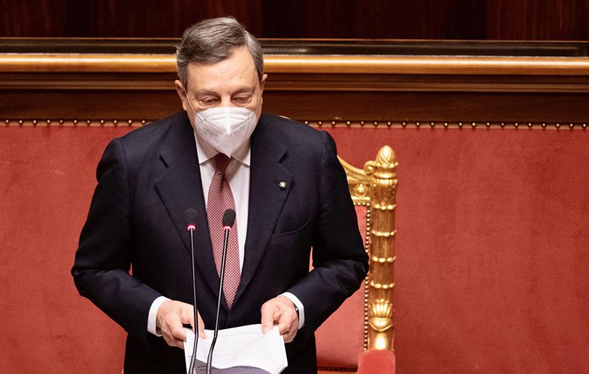 """Draghi: """"dobbiamo sostenere la cultura: rischiamo di perdere un patrimonio"""""""