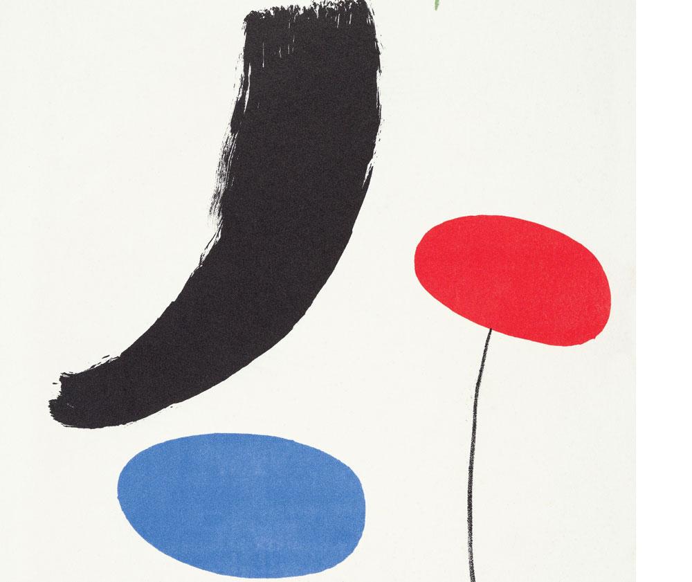 Pesaro dedica una grande mostra alle più note opere grafiche di Miró