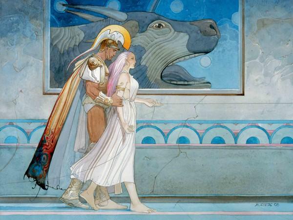 Napoli, al MANN c'è la più grande mostra mai dedicata in Italia al fumettista Moebius