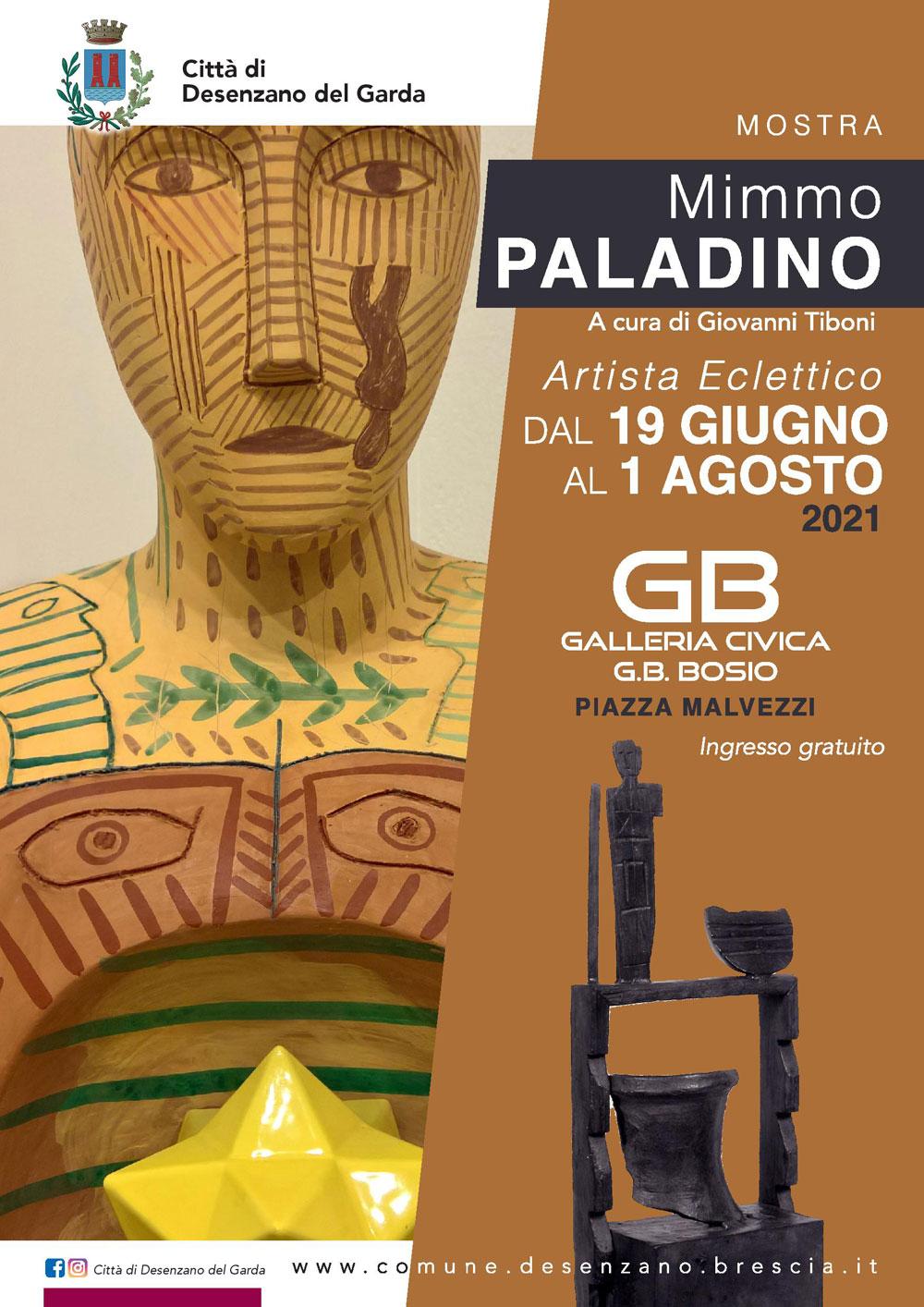 L'ecletticità di Mimmo Paladino in mostra alla Galleria Civica di Desenzano