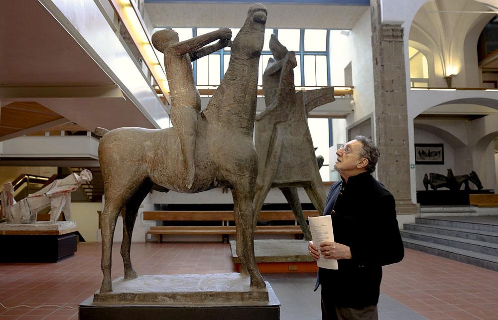 Il Museo Marino Marini diventa palcoscenico di teatro per raccontare il grande scultore