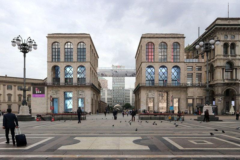 Milano, nascerà una passerella aerea tra i due corpi del Museo del Novecento
