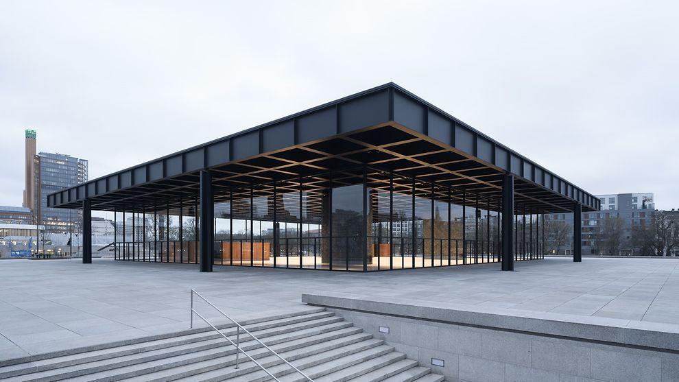 Berlino, pronta a riaprire l'iconica Neue Nationalgalerie di Mies van der Rohe