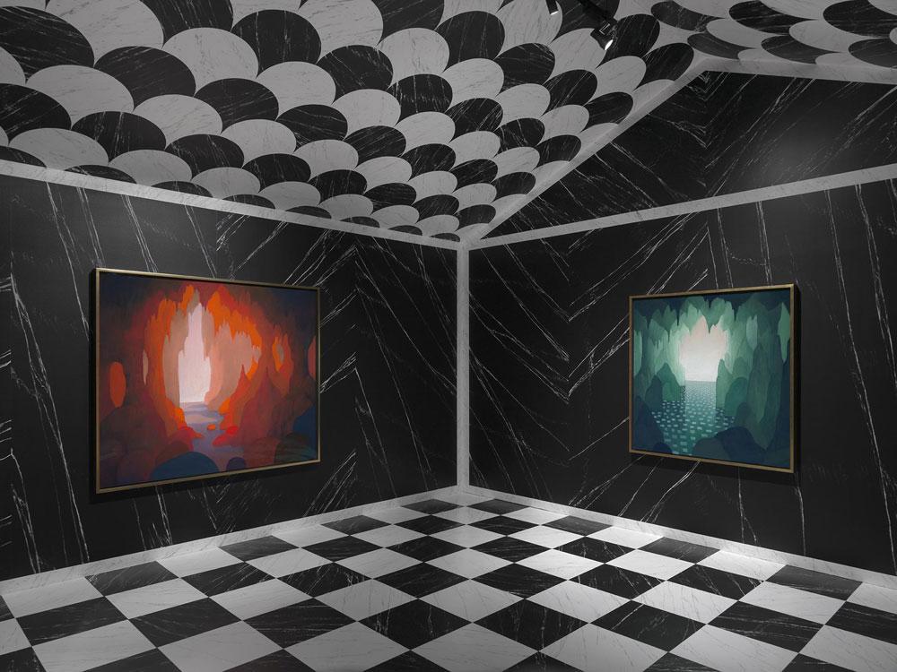 Al MASI la prima grande monografica immersiva di Nicolas Party in un museo