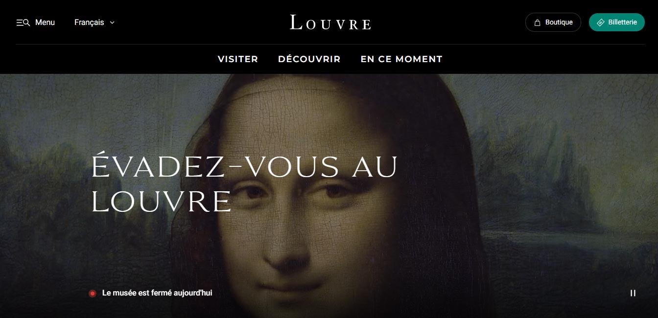 Il Louvre finalmente si dota di un nuovo sito web: ecco tutte le novità
