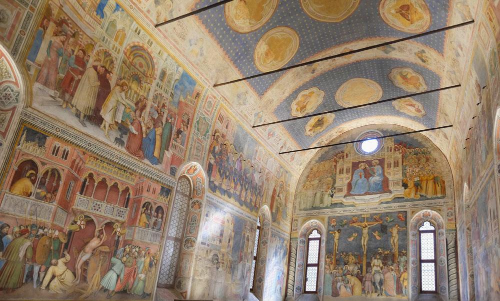 Padova, gli affreschi trecenteschi dell'Oratorio di San Giorgio risplendono sotto una nuova luce