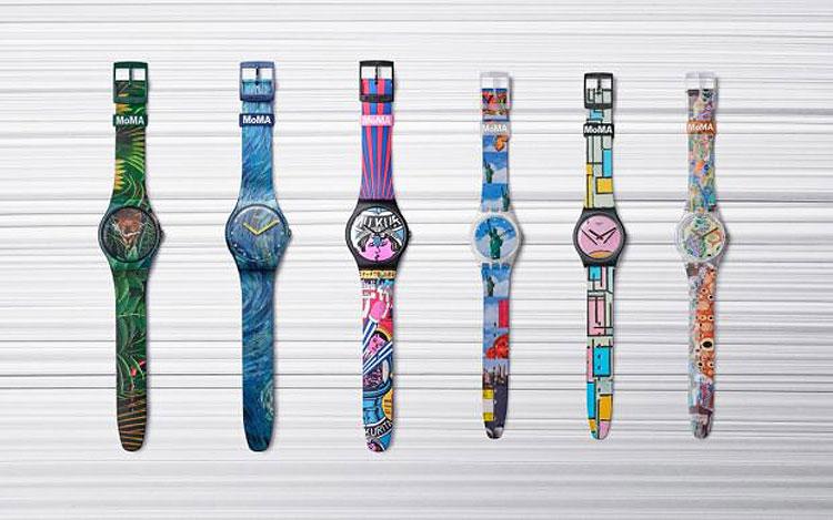 Capolavori... al polso: linea di orologi reinterpreta celebri opere del MoMA, da Van Gogh a Klimt