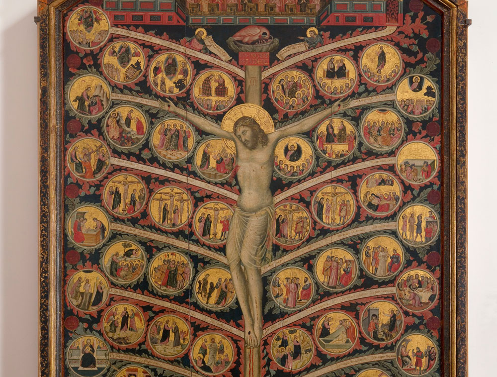 Il Bargello per Dante: l'Albero della vita di Pacino di Buonaguida in mostra