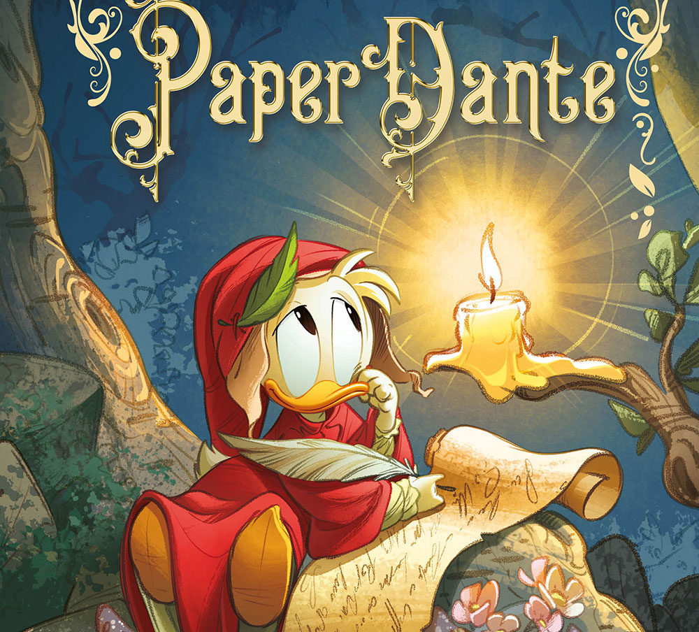 PaperDante, la prima storia illustrata Disney dedicata al Sommo Poeta