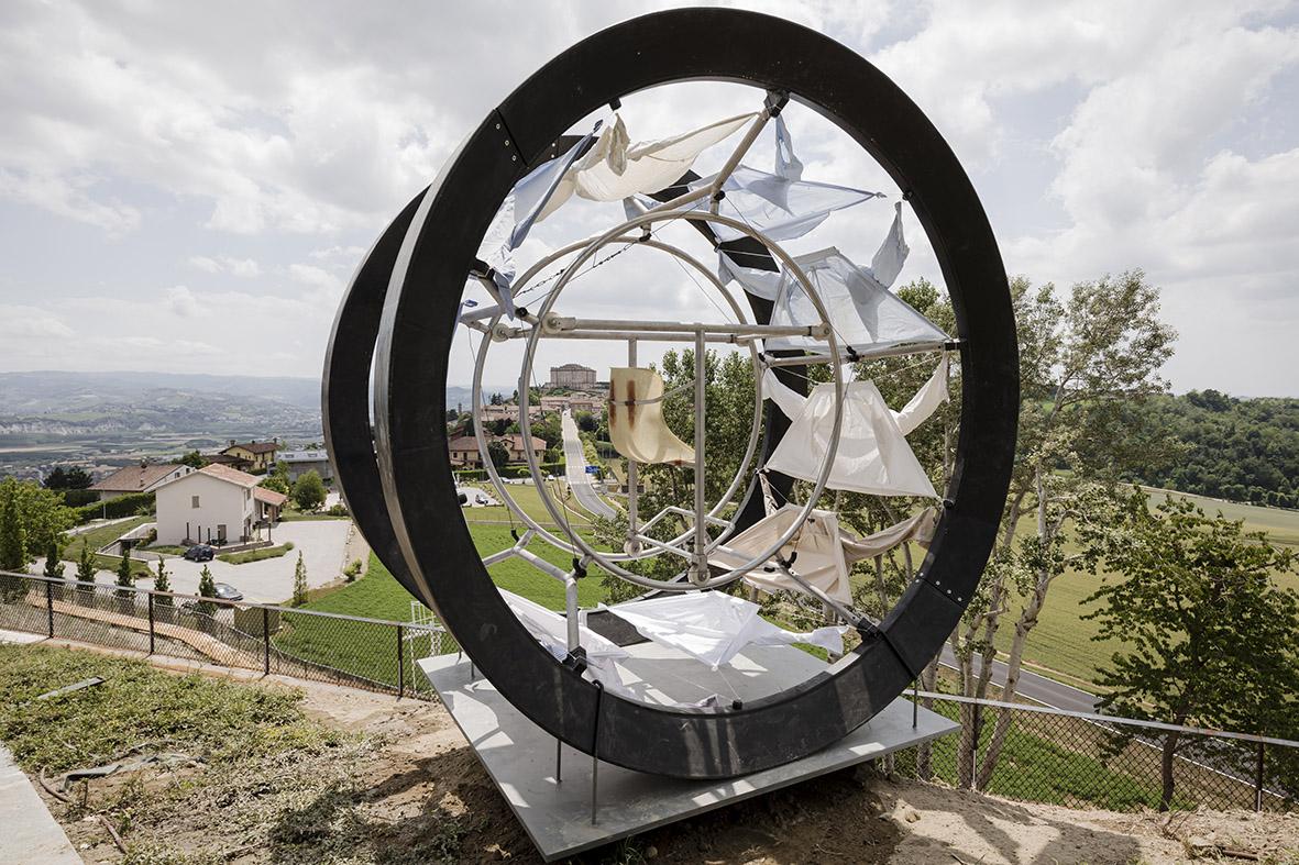 La Fondazione Sandretto Re Rebaudengo inaugura il suo Parco d'Arte nelle colline del Roero