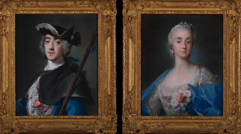 Due ritratti di Rosalba Carriera entrano nella Frick Collection e uno nasconde un santino