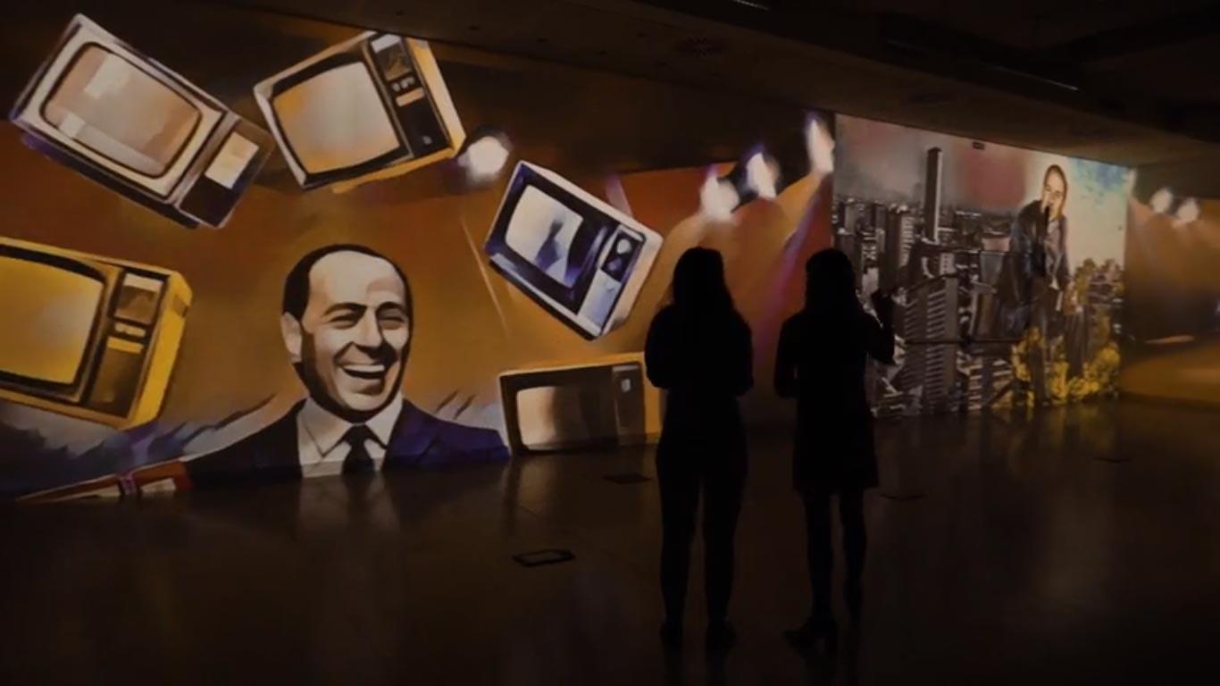 Sta per arrivare a Milano una mostra immersiva su Berlusconi (ma non parlerà di politica)