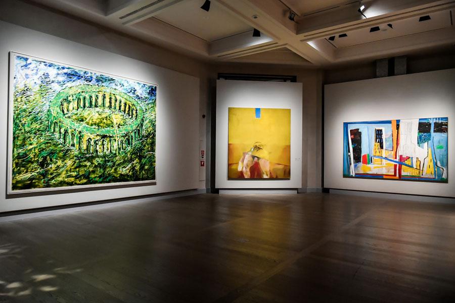 Milano, alle Gallerie d'Italia una grande mostra sulla pittura italiana degli anni '80