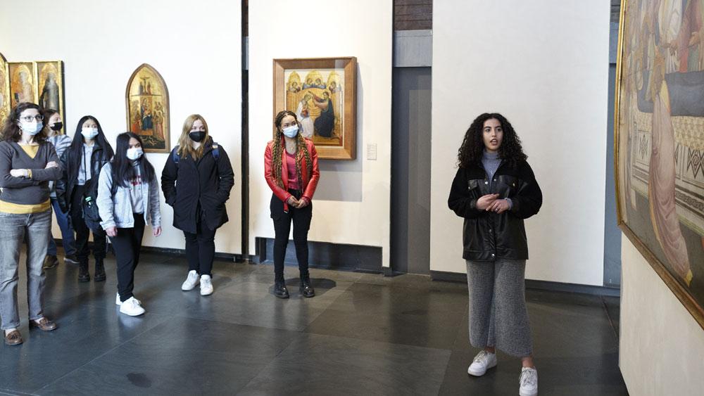 Parma, ragazzi di origine straniera raccontano le opere della Pilotta in video sui social