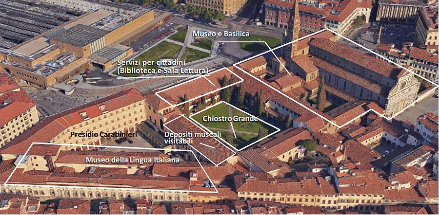 Firenze, ecco come rinascerà il complesso di Santa Maria Novella