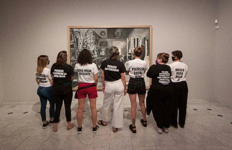 """""""Picasso maltrattava le donne"""": insegnante e studenti protestano al Museo Picasso di Barcellona"""