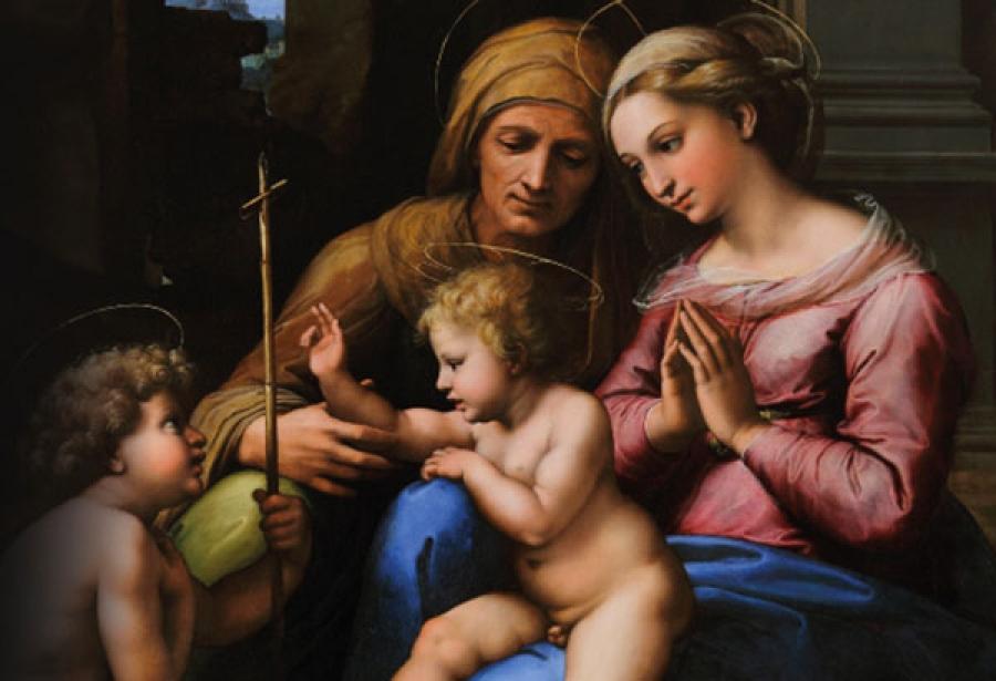 Napoli, al Museo di Capodimonte un focus sui dipinti di Raffaello della collezione