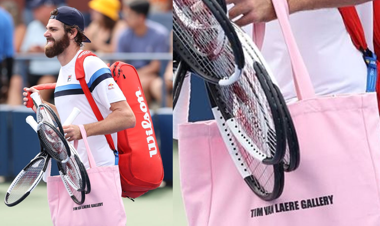 Tennis: Reilly Opelka multato agli US Open per aver mostrato la borsa di una galleria d'arte