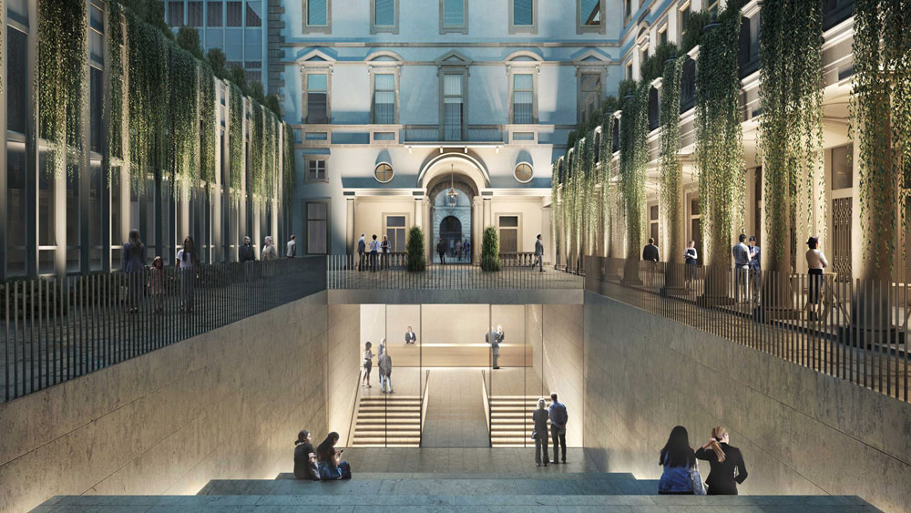 Apriranno nel 2022 le nuove Gallerie d'Italia in Piazza San Carlo a Torino