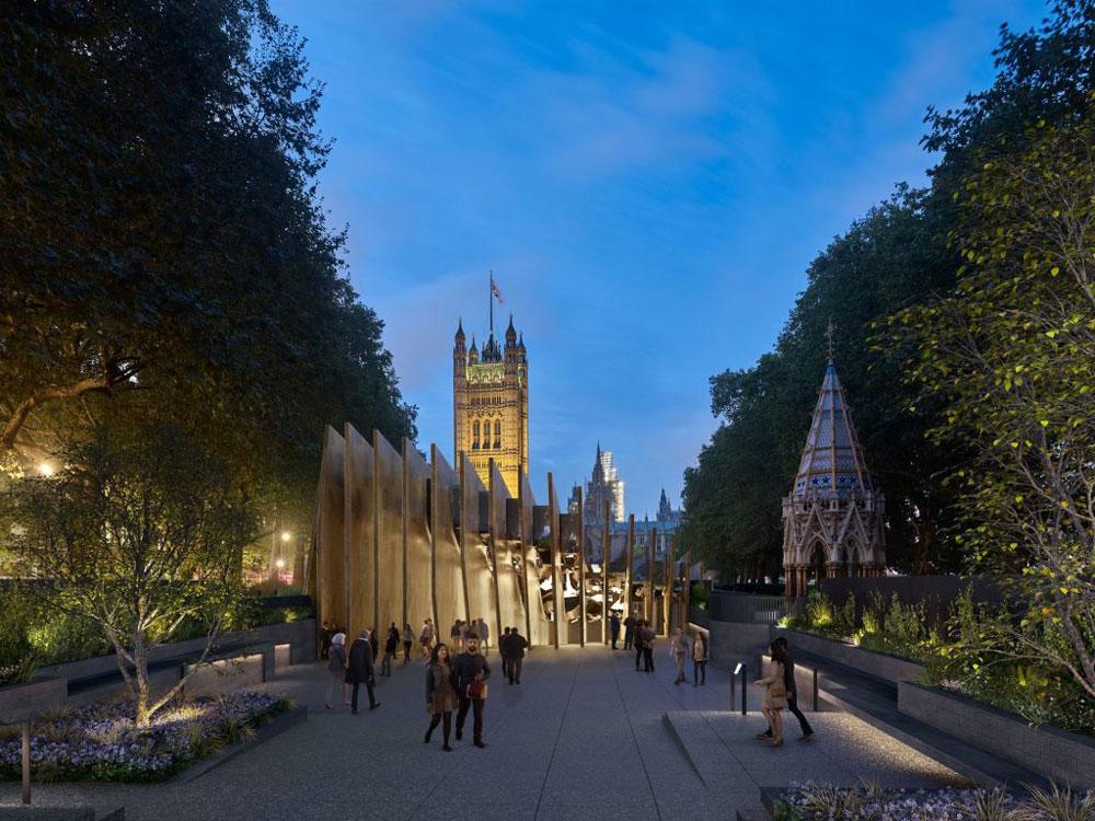 Tra le proteste sarà realizzato il Memoriale dell'Olocausto nei Victoria Tower Gardens di Londra