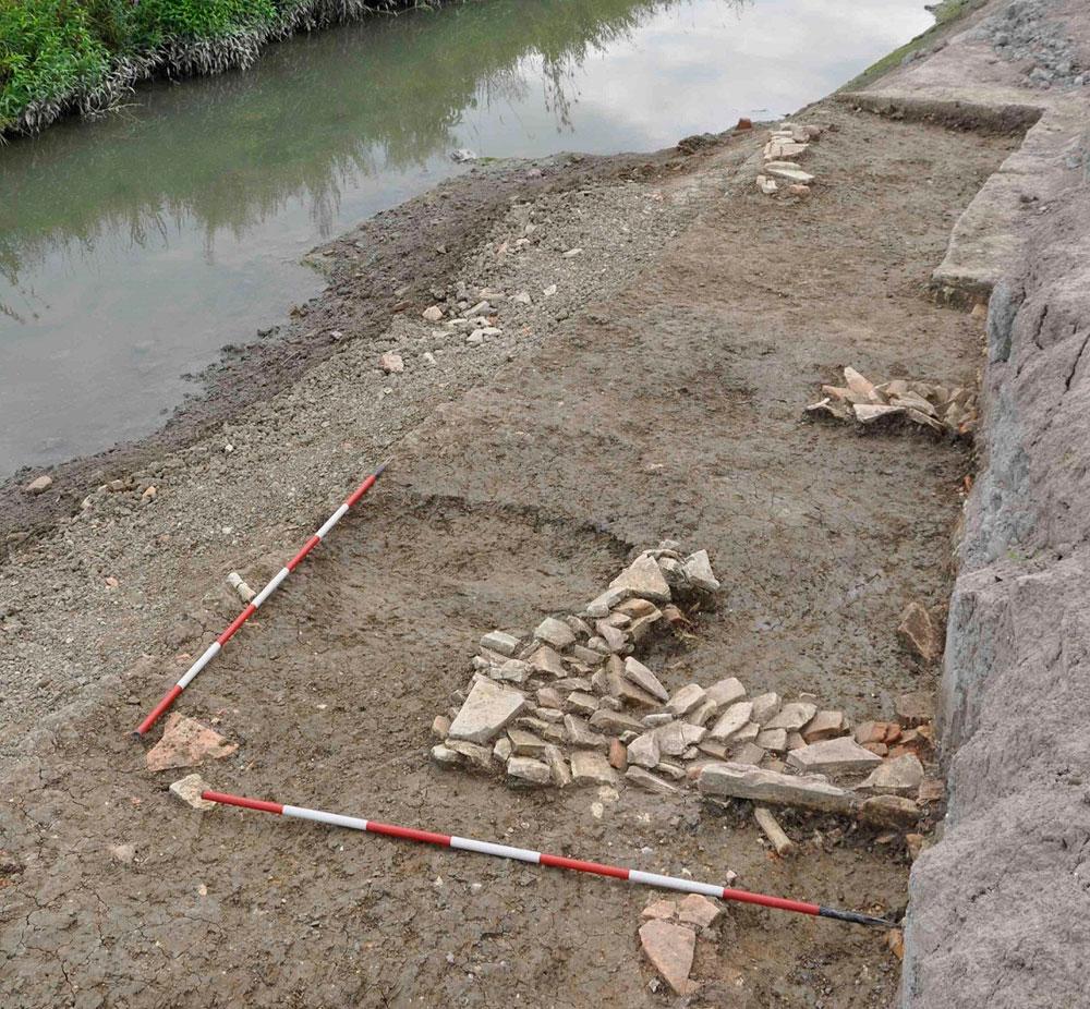 Udine, scoperti resti di un edificio di epoca romana lungo un antico corso d'acqua