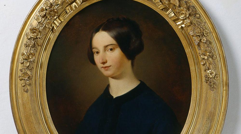 Alla Galleria Estense di Modena la pittura femminile di una nobildonna dell'Ottocento