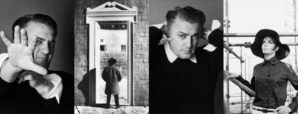 A Cinecittà una grande mostra su Federico Fellini con le foto di Elisabetta Catalano
