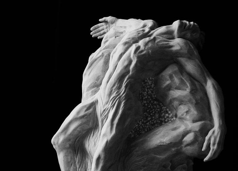 Volterra, due artisti contemporanei reinterpretano dopo 500 anni la Deposizione del Rosso Fiorentino